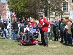 Plattsburgh Tea Party 2009