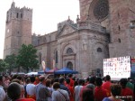 World Cup in the Plaza Mayor