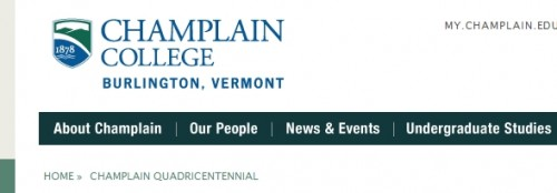 Lake Champlain Quadracentennial - Champlain College