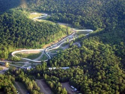Olympic Bobsled Track - Mt Van Hoevenburg, Adirondacks