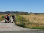 On the way to the Castle - La Riba de Santiuste
