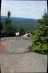 Relaxing at the Top of Debar Mtn.