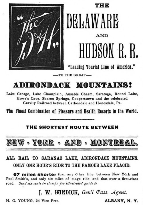 The Delaware and Hudson R.R.