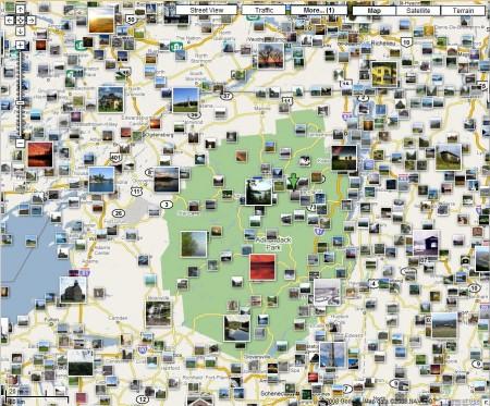 Panaramio on Google Maps