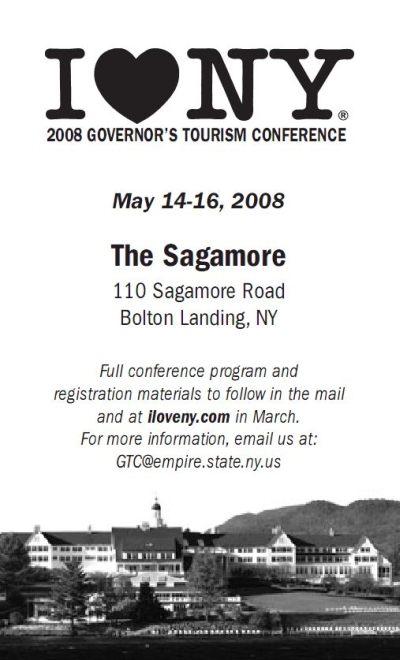 Governor's Tourism Conference - Sagamore