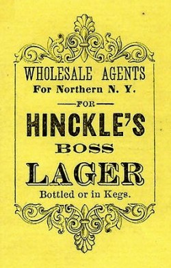 Hinckle's Boss Lager