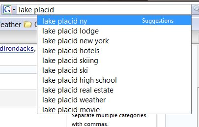 Lake Placid Suggest