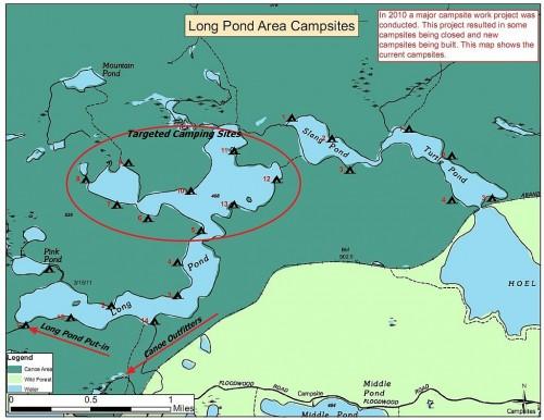 Long Pond Campsites