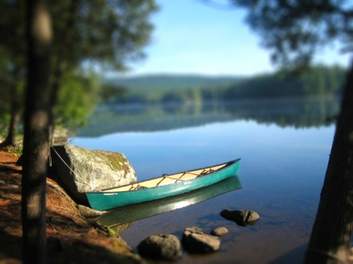 Canoe - Lower Saranac Lake