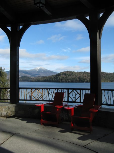 Lake Placid - View from the Lake Placid Lodge