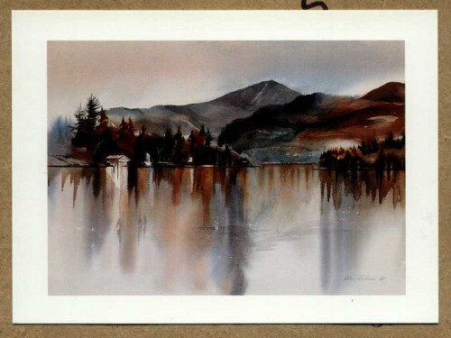 &quot;Mirror Lake Reflections&quot; by John Gallucci of Queensbury, New York