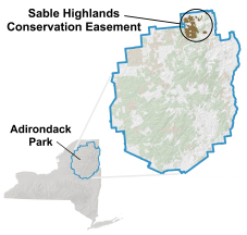 Sable Highlands - Locator Map