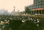 Protest Scene