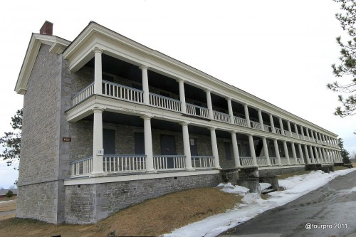 Plattsburgh Stone Barracks - Front