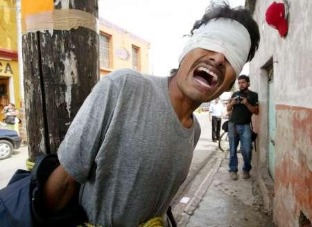 Oaxaca Justice - Thief