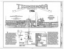 Steamship Ticonderoga Drawing