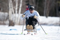 Adaptive XC Ski
