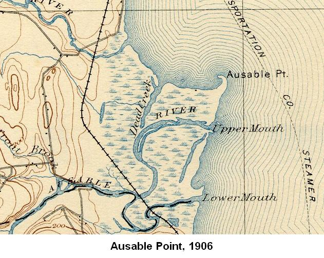 Ausable Point, 1906