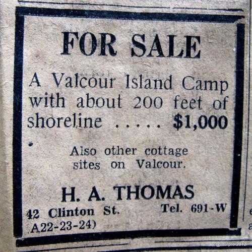 Valcour Island Camp