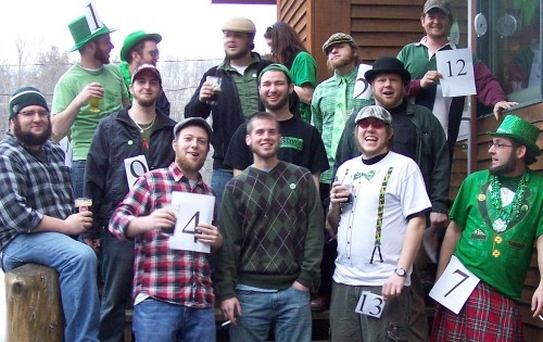 2011 Adirondack Donegal Beard Contestants