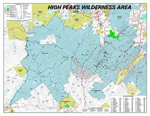 Adirondack High Peaks Trail Status - as of 9/16/2011
