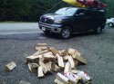 DEC Illegal Firewood Checkpoint