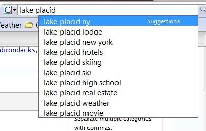 Lake Placid Suggest
