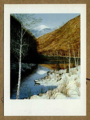 """Lower Cascade Lake"" by Kim Hildreth of AuSable Forks, New York"