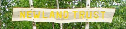 New Land Trust Sign