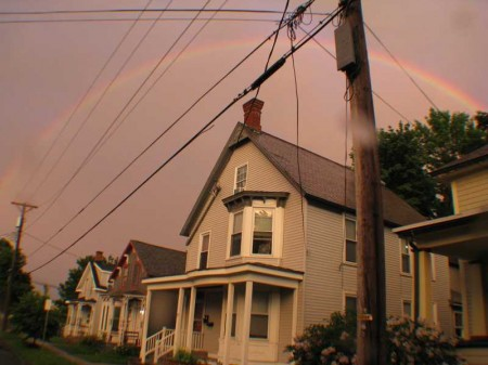 Rainbow Over Plattsburgh
