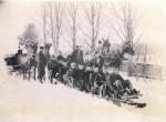 Sleigh Ride - Saranac Lake - NY - 1895