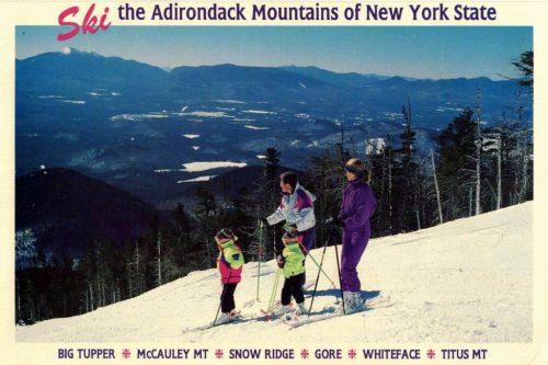 Ski the Adirondack Mountains of New York State