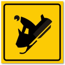Snowmobile - Danger