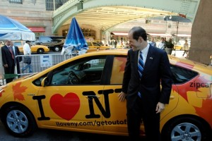 Eliot Spitzer Stroking Zipcar